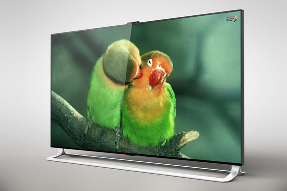 LG Ultra HD Smart Tv 65 Inch Mock Up