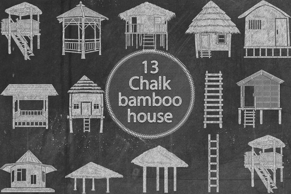 Chalk Bamboo House