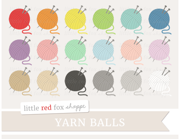 Yarn Ball Clipart