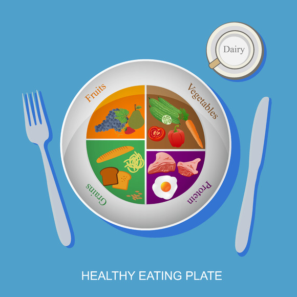 Food Healthy Diet Vector