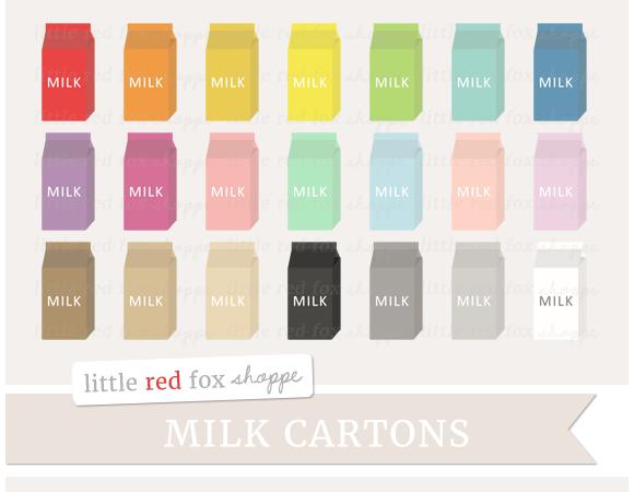 Milk Carton Clipart