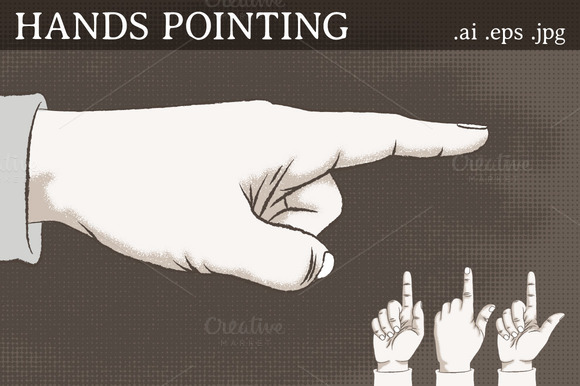 Hands Pointing