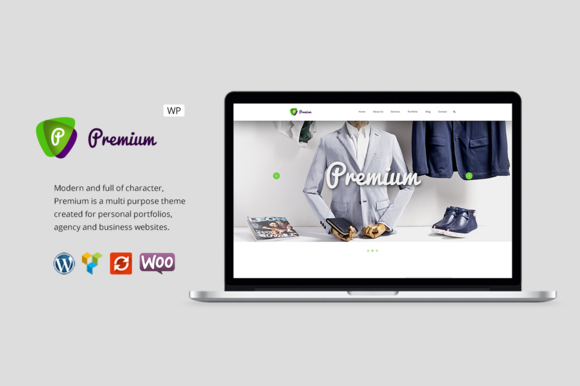 Premium - Business WordPress Theme - Business