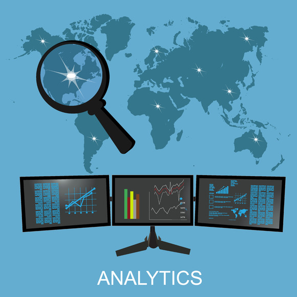 Analytics Statistics Vector