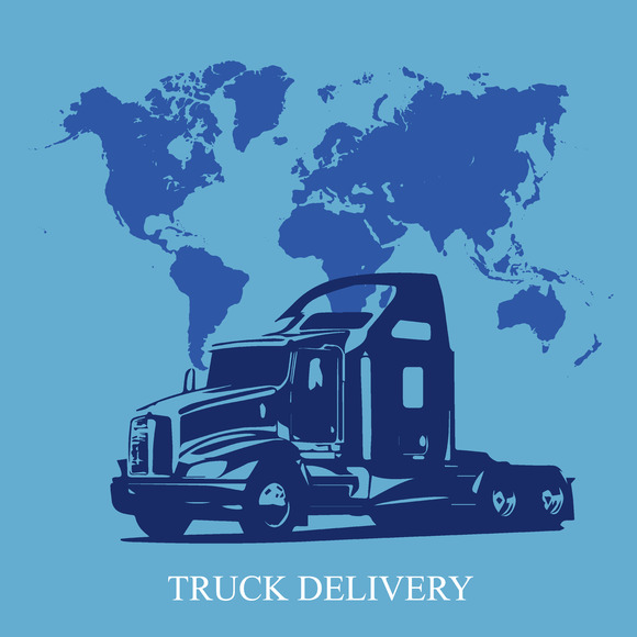 Semi Truck Delivery Shipping