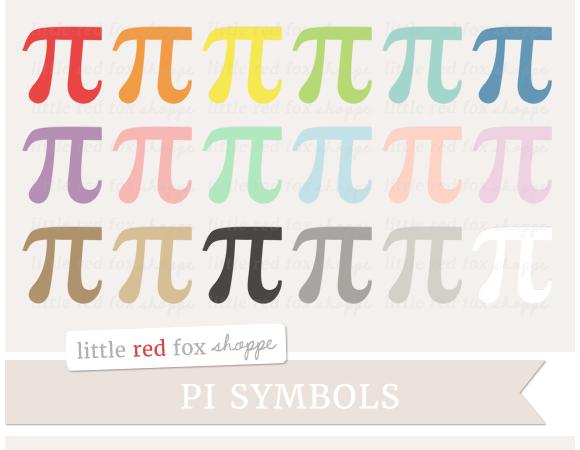Pi Symbol Clipart