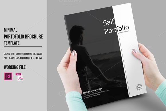 portfolio brochure template - indesign portfolio brochure v430 brochure templates on