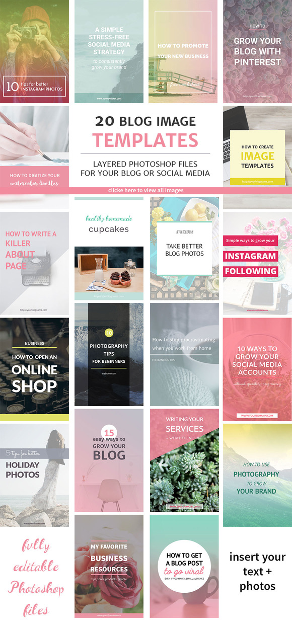 20 Blog Image Templates