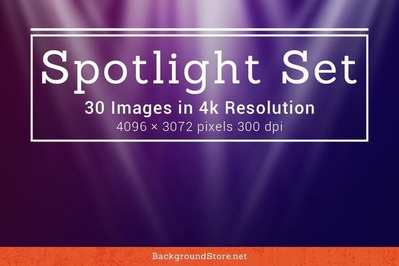 Spotlight Backgrounds Set