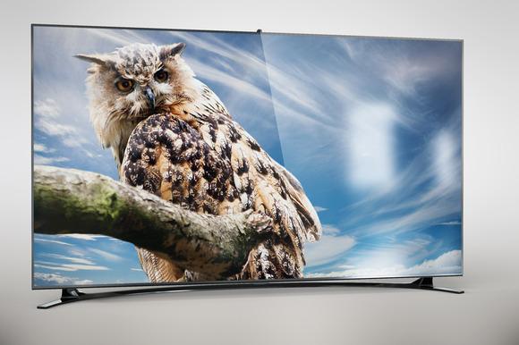 Samsung 46inch F8000 Full HD Mock Up