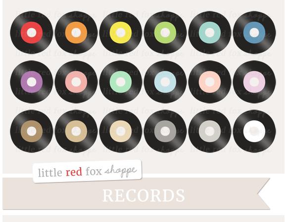 Record Clipart