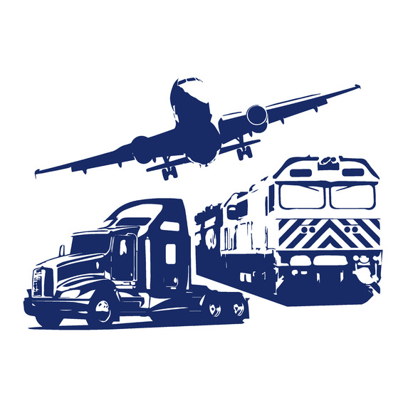 Logistics Transport Concept Icons