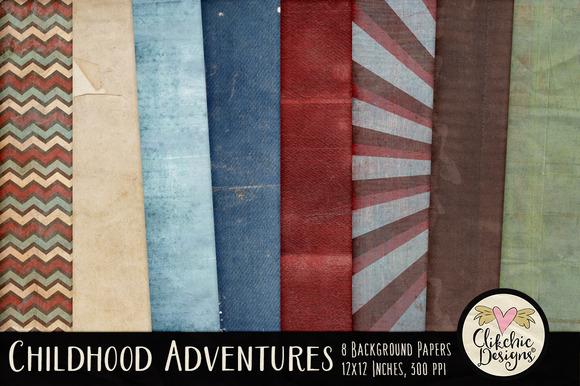 Childhood Adventures Textures