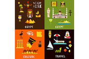 Egypt travel and culture fl-Graphicriver中文最全的素材分享平台