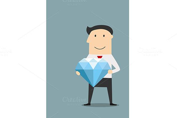 Businessman With Large Diamond