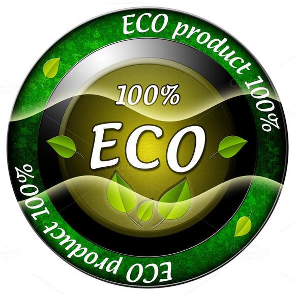 100% ECO Icon