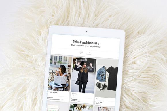 Ipad Stock Photos Fashion Series