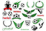 Football or soccer sport ga-Graphicriver中文最全的素材分享平台