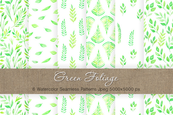 Watercolor Floral Patterns Vol.3 - Patterns