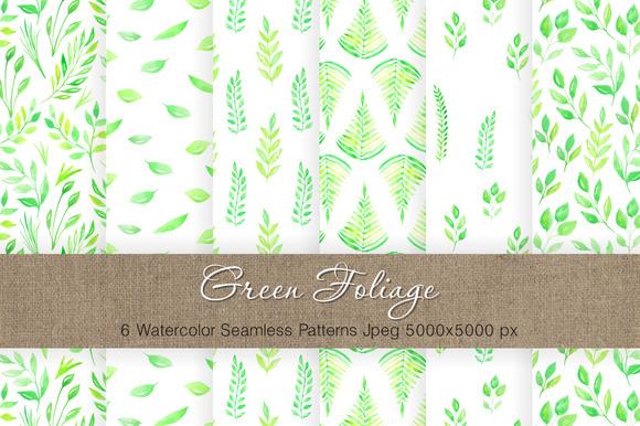 Watercolor Floral Patterns Vol.3 - Patterns