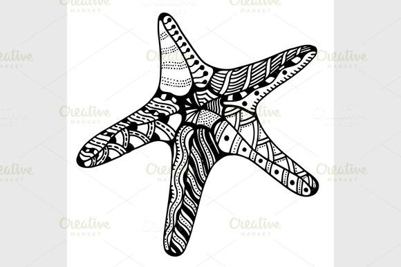 Vector Vector Starfish