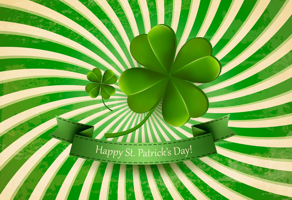 Happy St. Patrick's Day Background. - Illustrations