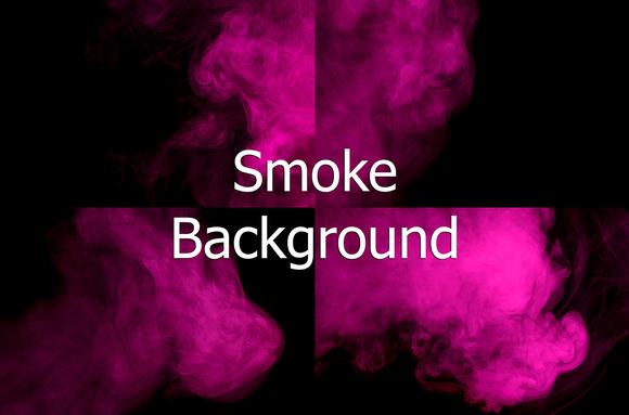 Abstract Purple Smoke Hookah