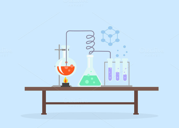 Biology Laboratory Workspace