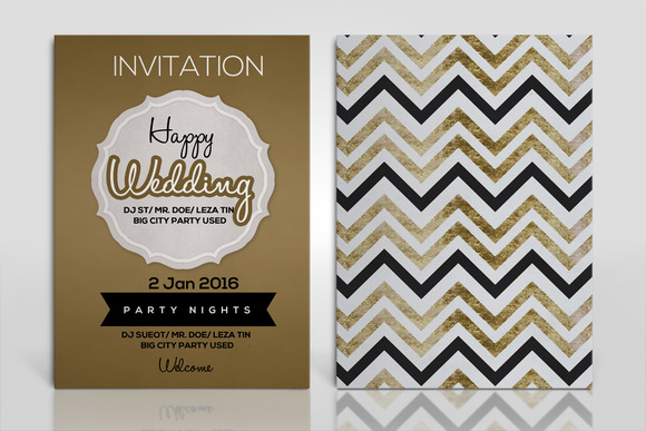 Galaxy Nye Double Sided Psd Flyer Template Free