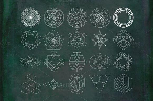 20 Geometric Shapes
