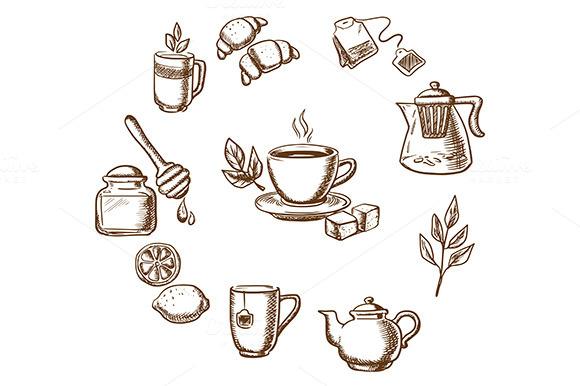 Herbal Tea Dessert And Bakery