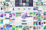 ColorChaos IOS Mobile UI ki-Graphicriver中文最全的素材分享平台