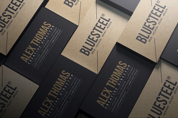 Creativemarket modern kraft paper business card 586242 heroturko psd creativemarketmarvels586242 modern kraft paper business card this elegant and clean business card template is suitable for any kind of business or reheart Choice Image