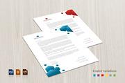 Polygon Corporate Letterhea-Graphicriver中文最全的素材分享平台