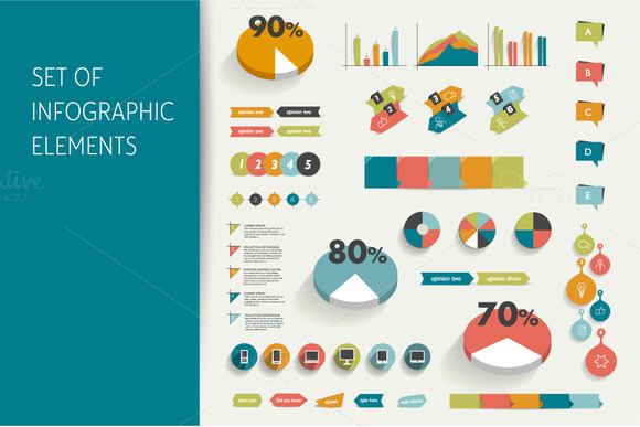 Infographic Set Elements