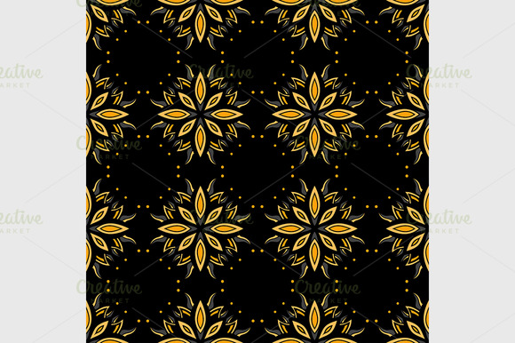 Abstract Vintage Seamless Pattern