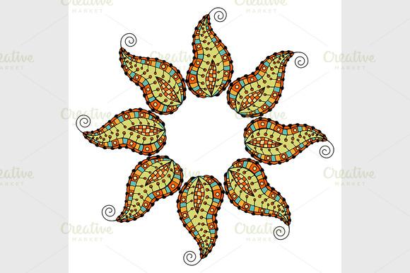 Colored Mandala Pattern