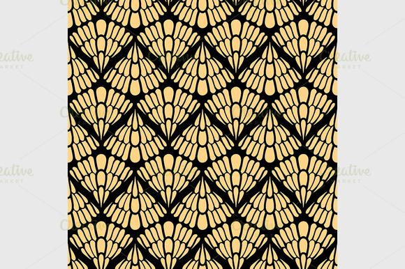 Colored Seamless Pattern