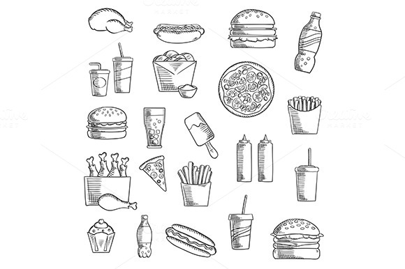 Takeaway And Fast Food Cuisine