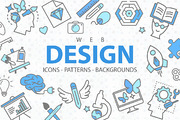 Web Design: Icons, Patterns-Graphicriver中文最全的素材分享平台