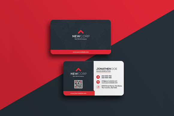 Creativemarket corporate business card 17 587817 heroturko download creativemarket corporate business card 17 587817 reheart Choice Image