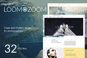 LoomZoom  32Photography Tem-Graphicriver中文最全的素材分享平台