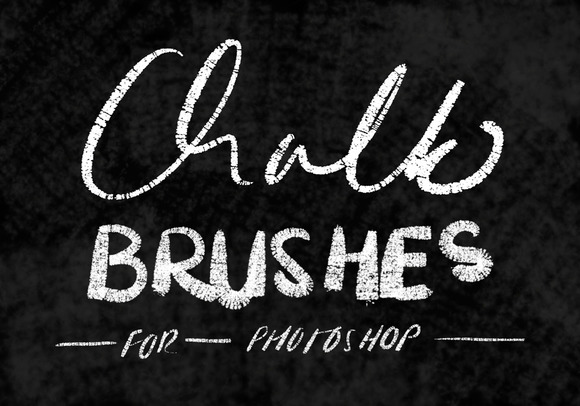 how to make a chalk brush photoshop