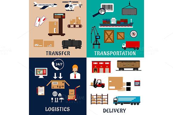 Transportation Shipping Storage Icon