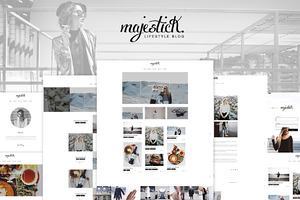 Majestick - WP Lifestyle Blog