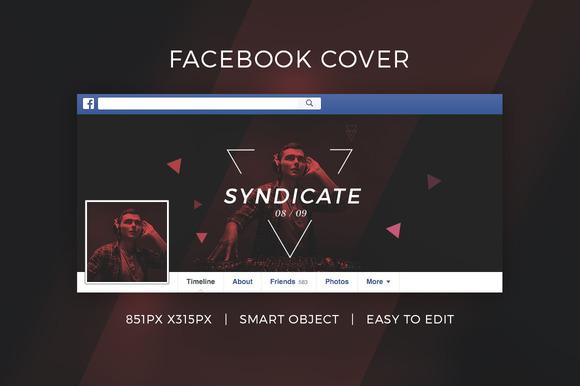 Facebook DJ Cover V8