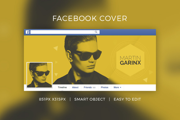 Facebook DJ Cover V6