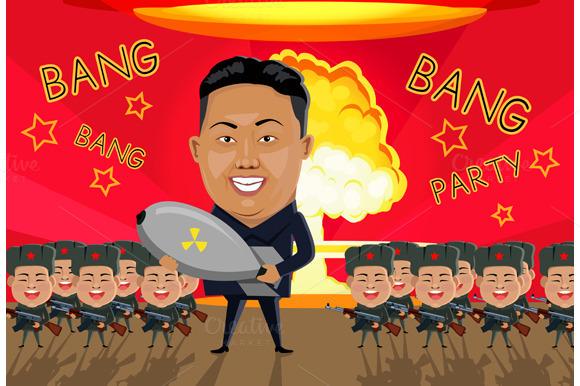 Bomb On North Korea