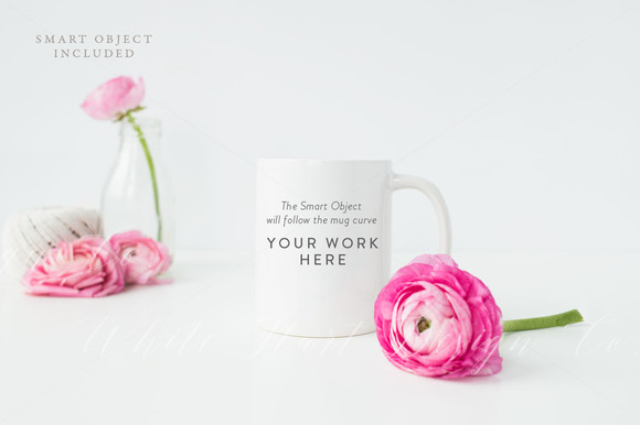 Styled Mug Mock Up Psd Jpeg
