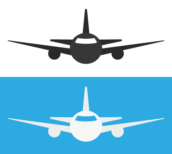 Airplane Icon Icons On Creative Market